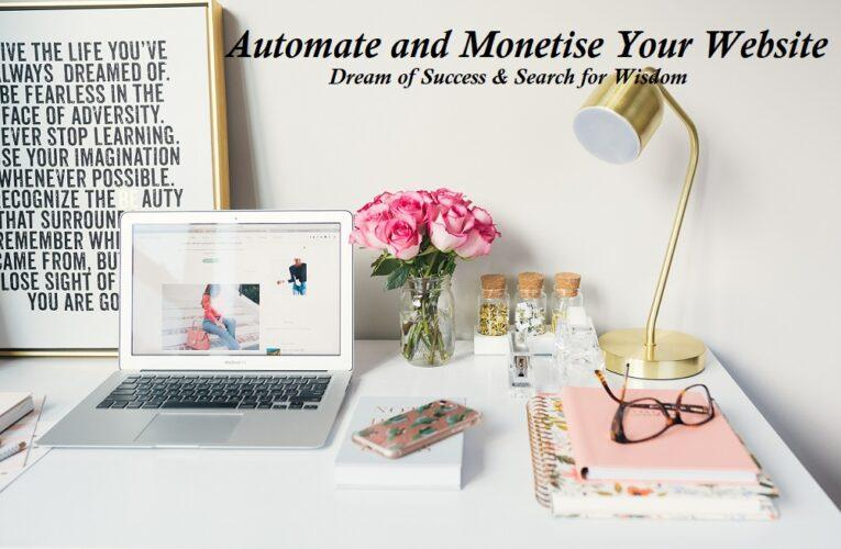 Building A Monetised and Automated Affiliate Website