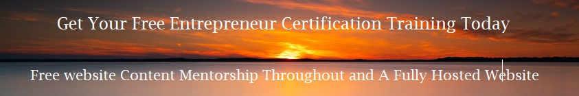 Free Entrepreneur Certification Training