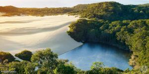 Lake Wobbly Fraser Island