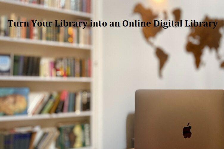 Creating an Online Library for Digital Posts