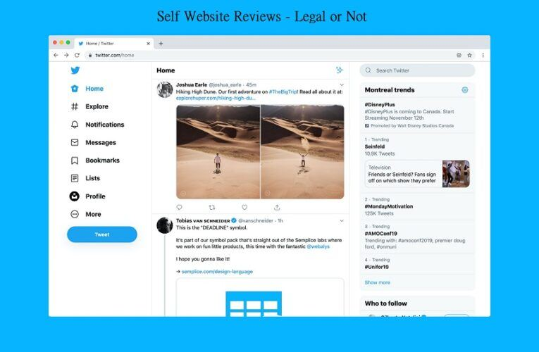 The laws Outlining Self-Review Options for SEO